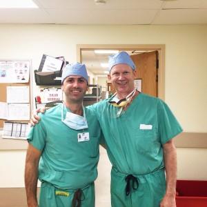 Trabajo de consultorio. Dr. Ignacio Dallo y Dr. Robert Laprade.