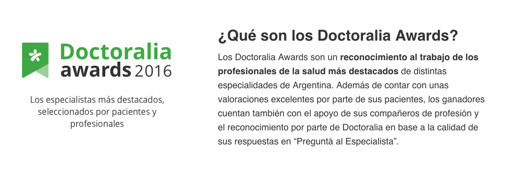 ¿Qué son los Doctoralia Awards?
