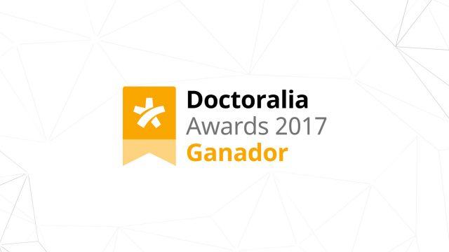 Dr. Ignacio Dallo ganador de los Doctoralia Awards 2017 en Ortopedia y Traumatología