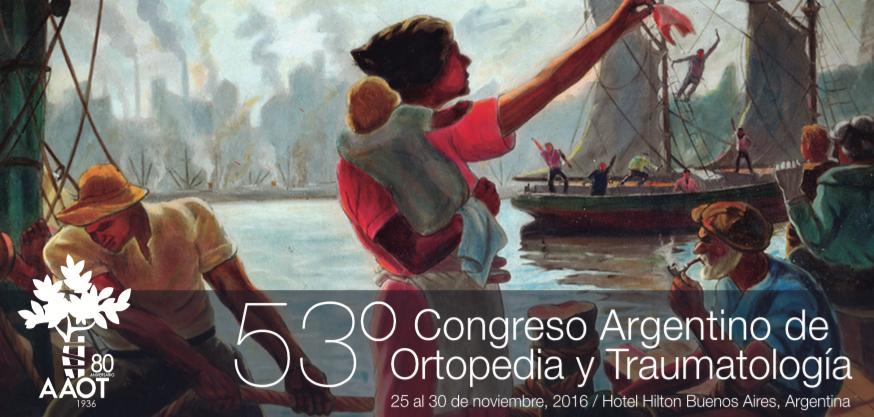 Imagen del 53º Congreso Argentino de Ortopedia y Traumatología. Nación invitada Alemania.
