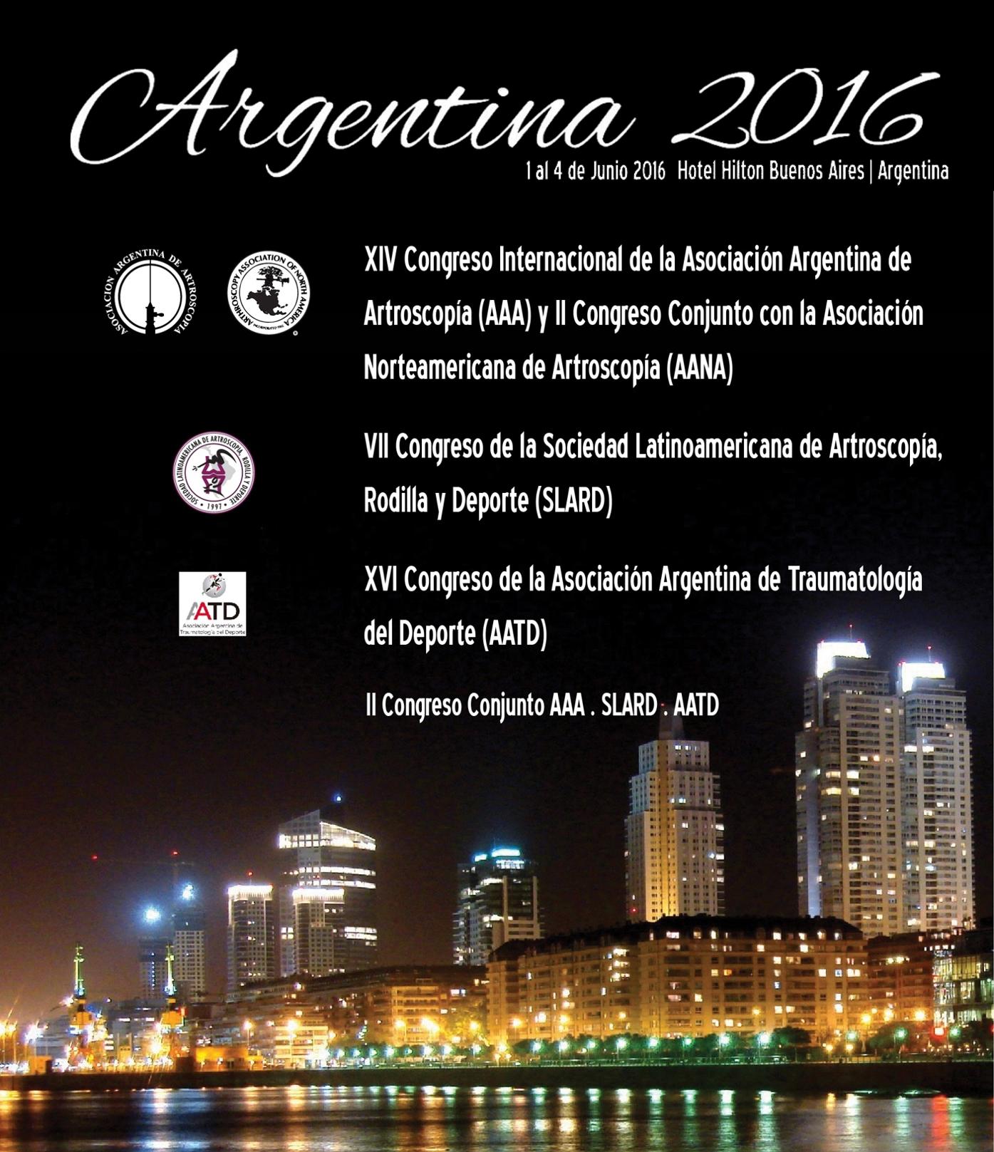 Congreso Internacional Conjunto 2016 Afiche