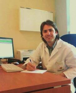 El Dr Ignacio Dallo en Consultas deportivas. Clinica Cemtro ( Centro de Excelencia FIFA)