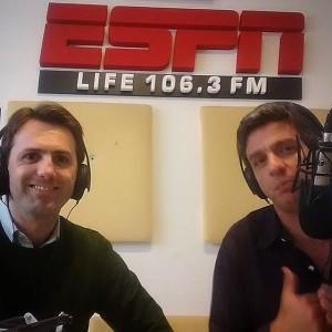 Dr. Ignacio Dallo en los estudios de ESPN Life