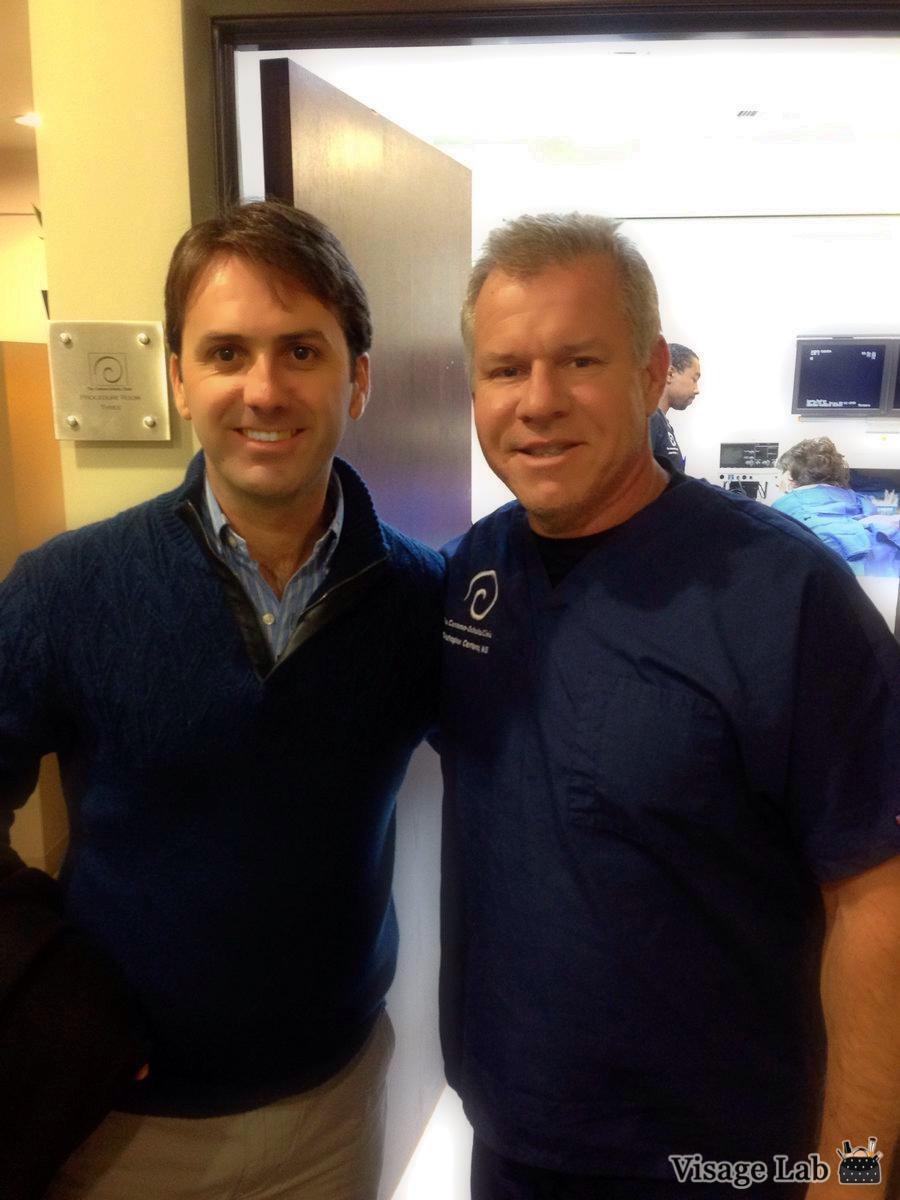 Dr. Christopher Centeno y Dr. Ignacio Dallo. Durante la visita del Dr. Dallo a Regenexx ® Stem Cell, Colorado, en febrero 2016