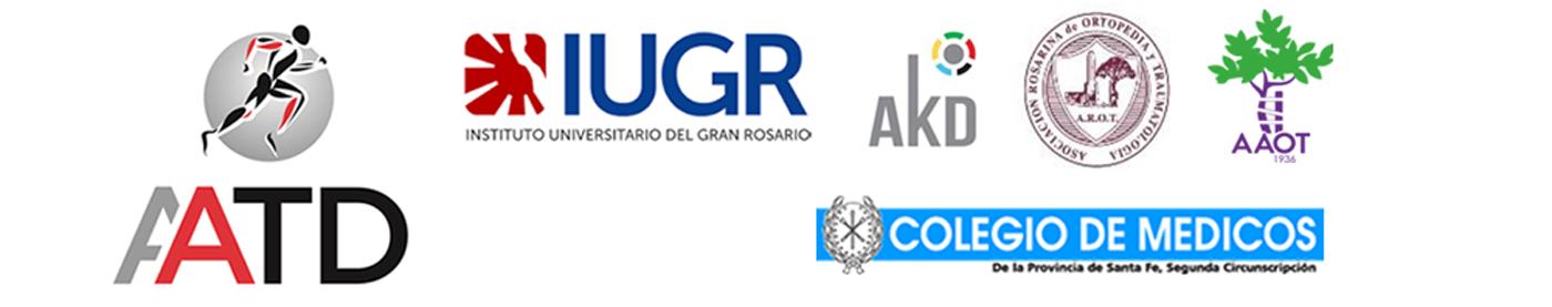 Organiza la Jornada de Terapias Regenerativas: AATD / Certifica: IUGR / Auspician: AKD, AROT, AAOT, Colegio de Médicos de Santa Fé