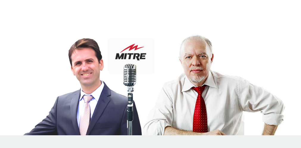 Jorge Fernández de Pensándolo Bien, en Radio Mitre entrevista al Dr. Ignacio Dallo sobre los dolores de espalda, sus causas y métodos de prevención.