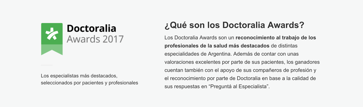 Que son los Doctoralia Awards 2017