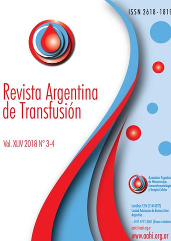 Revista Argentina de Transfusión
