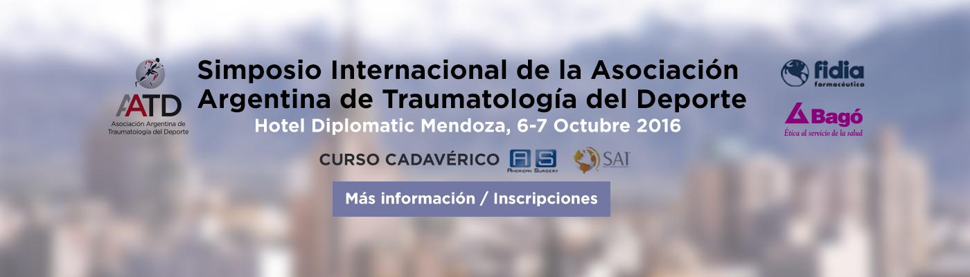 Simposio Internacional de la Asociación Argentina de Traumatología del Deprte