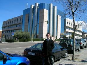 El Dr Ignacio Dallo en la Clinica Cemtro, de Madrid, durante su fellowship de Artroscopìa y Traumatologìa del Deporte. 2008